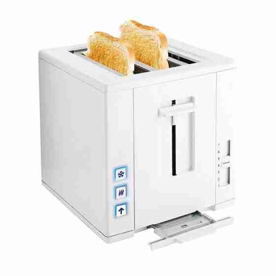 Toaster capacità 2 fette con funzione scongelamento 750W 20 x 21 x 22 h cm