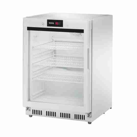 Vetrina gelateria statica con porta a vetri 600x600x855h mm -18 °C