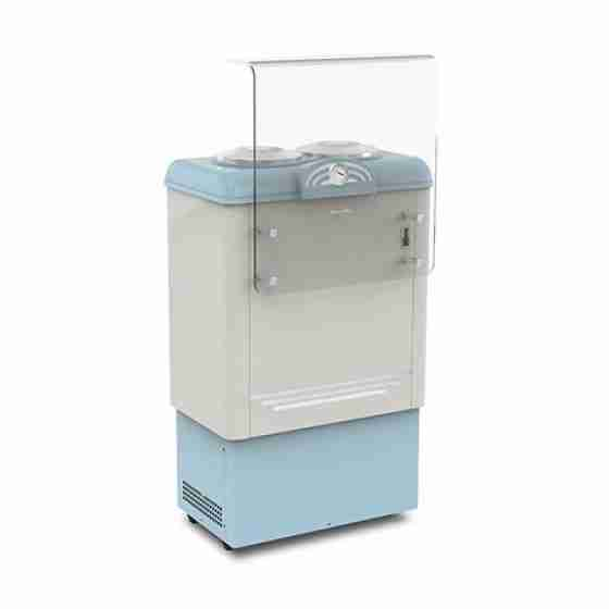 Banco gelateria 2 pozzetti 654 x 427 x 1030h mm