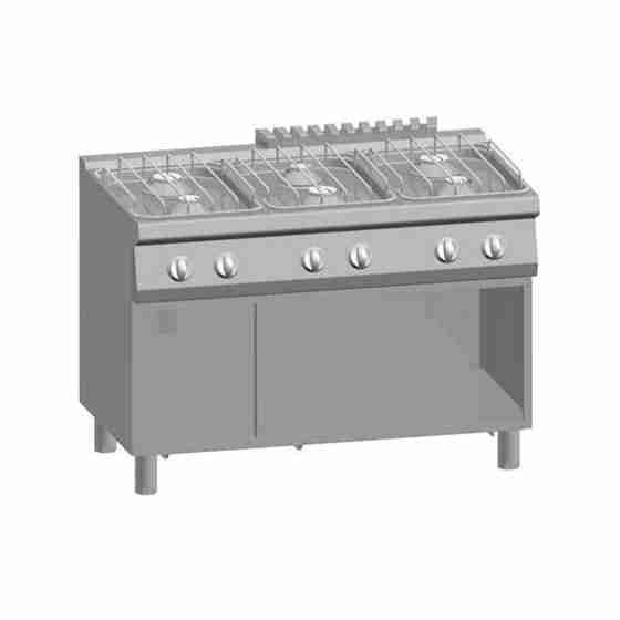 Cucina a Gas 6 Fuochi + Vano