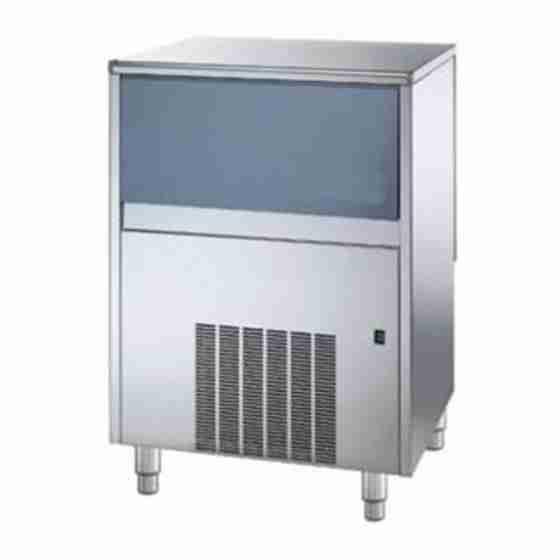 Produttore Fabbricatore di ghiaccio cubetti pieni produzione 88 Kg - 24h