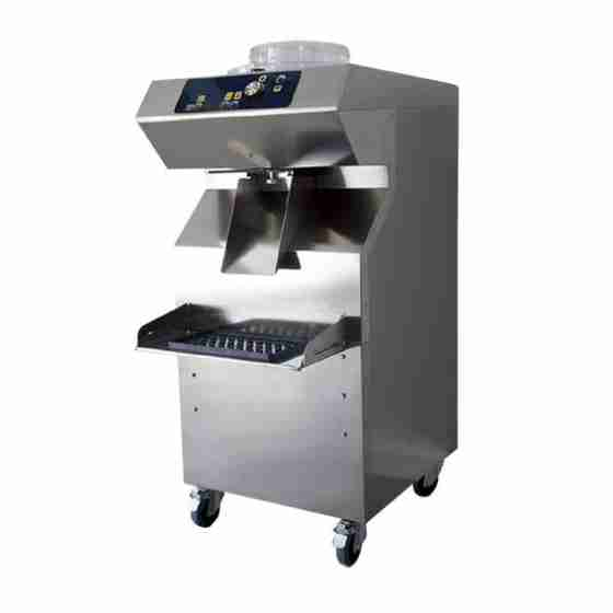 Mantecatore per Gelato con estrazione automatica condensazione a aria capacità 5 lt