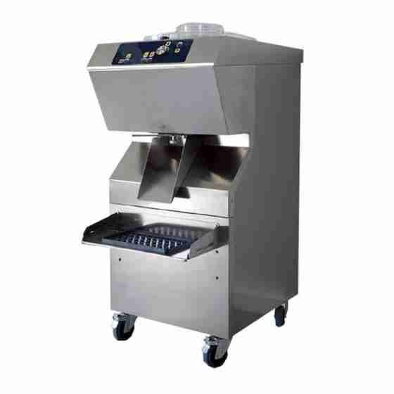 Mantecatore per Gelato estrazione automatica condensazione a acqua capacità 14 lt