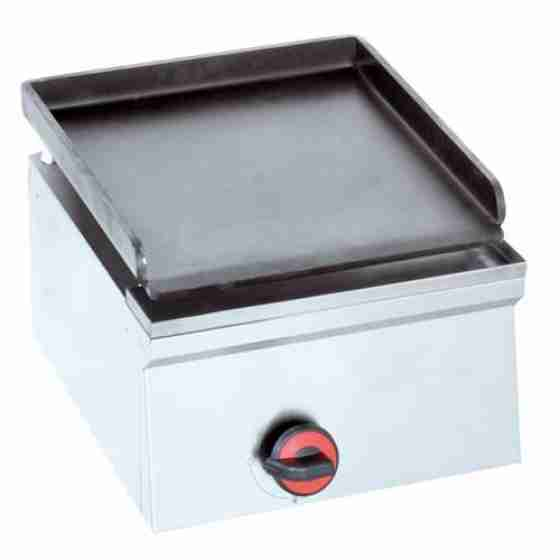 Piastra Fry top acciaio inox professionale elettrico 2 Kw