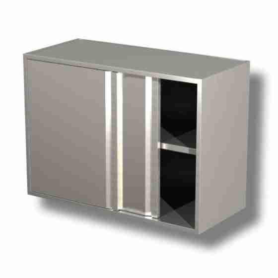 Pensile in acciaio inox 100x40x65cm da Assemblare - LINEA SILVER