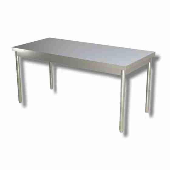 Gambe In Acciaio Inox Per Tavoli.Tavolo Su Gambe Profondita 70 Cm 170x70cm