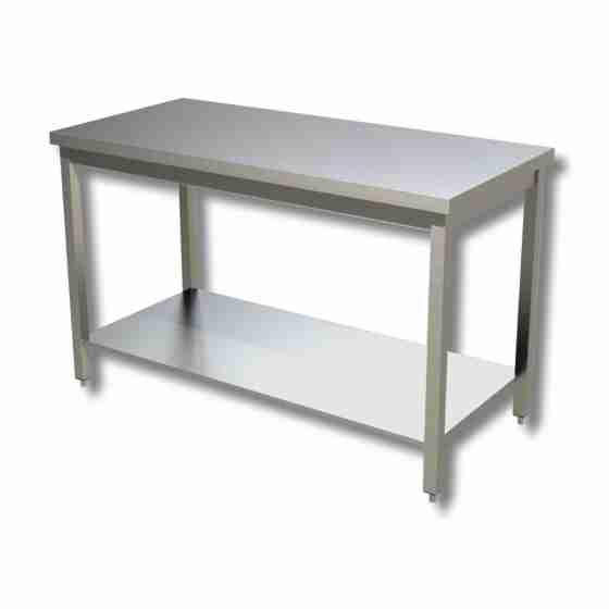 Tavolo su gambe con piano di fondo 100x60 cm