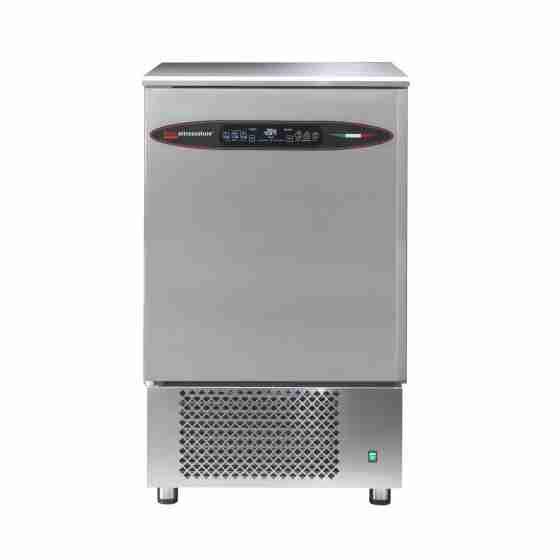 Abbattitore surgelatore di temperatura professionale con touch capacitivo in acciaio inox capacità 10 teglie GN1/1
