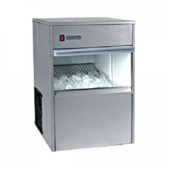 Produttore di ghiaccio cubetti cavi 50 kg / 24h capacità 13 Kg