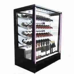 Vetrina Refrigerata Klassen per bottiglie vetri Squadraticon apertura Posteriore 1015x620x1240h +4°/+8°C