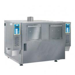 Friggitrice Elettrica professionale doppia in acciaio inox per Pub Bar Ristoranti senza cappa 600+600 gr