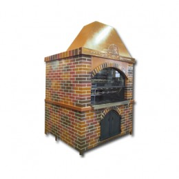 Girarrosti a Legna capacità 85-100 polli