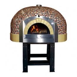 Forno a Legna 7 Pizze con decorazione a Mosaico