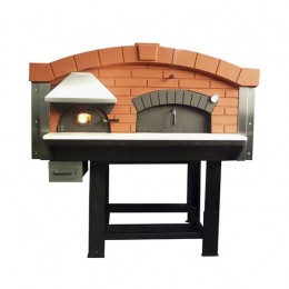 Forno a Legna con camera di combustione separata 9 Pizze
