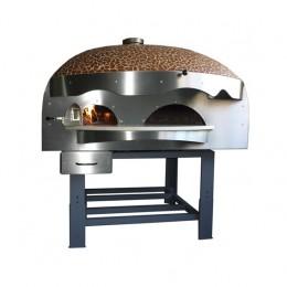 Forno a Legna con camera di combustione separata con decorazioni a Mosaico 9 Pizze