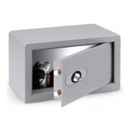 Cassaforte a mobile con serratura con cilindro di sicurezza e Passepartout direzionale.