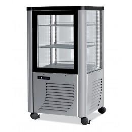 Vetrina gelateria 2 ripiani Illuminazione a Led Capacità 230 lt