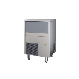Produttore Fabbricatore di ghiaccio cubetti pieni produzione 37 kg - 24h