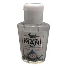 Igienizzante gel 80 ml per mani contro batteri e virus, senza risciacquo per uso quotidiano