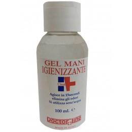 Gel idroalcolico 100 ml Igienizzante mani contro virus e batteri senza risciacquo