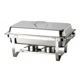 Chafing dish rettangolare GN 1/1 585x375x145 h mm
