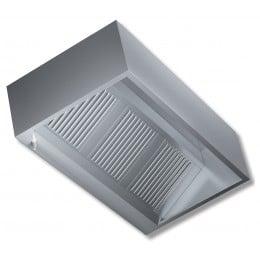Cappa a parete senza motore profondità 900 mm 3400x900x450h mm