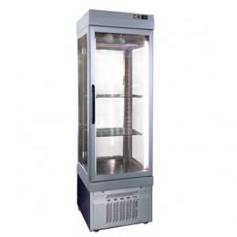 Armadio stagionatore per carni e formaggi 1 porta 4 lati vetro 540 lt