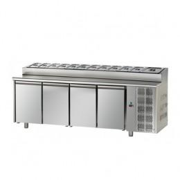 Tavolo Refrigerato Snack GN 1/1 con 4 porte