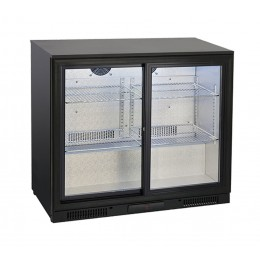 Retrobanco refrigerato ventilato 2 porte scorrevoli 197 lt 900x500x860 h mm