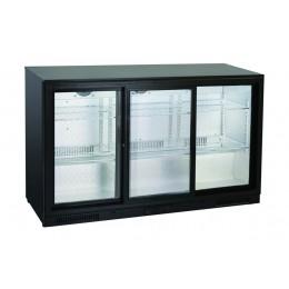 Retrobanco refrigerato ventilato 3 porte scorrevoli 302 lt 1335x500x860 h mm