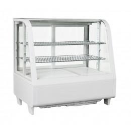 Vetrina refrigerata ventilata da banco 100 lt 682x450x675 h mm