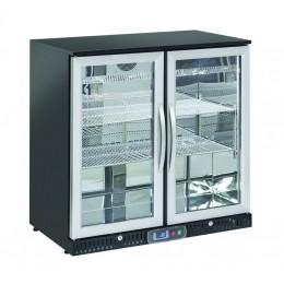 Retrobanco refrigerato ventilato 2 porte a battente 208 lt 900x520x900 h mm