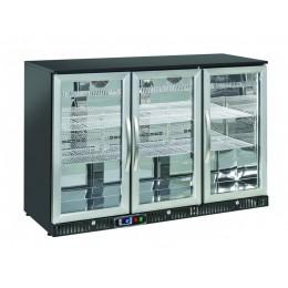 Retrobanco refrigerato ventilato 3 porte a battente 322 lt 1350x520x900 h mm