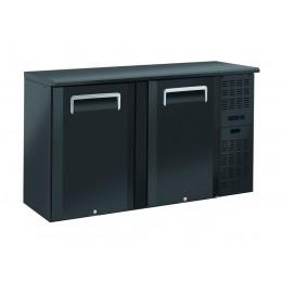 Retrobanco refrigerato ventilato 2 porte a battente 315 lt 1460x515x860 h mm
