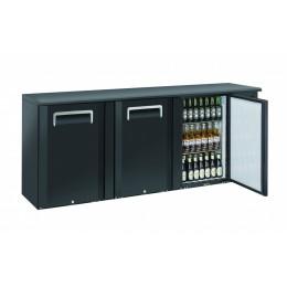 Retrobanco refrigerato ventilato 3 porte a battente 500 lt 2085x515x860 h mm
