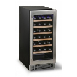 Cantina vini da incasso refrigerazione ventilata +5~+18° C 100 lt