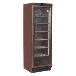 Cantina vini refrigerazione roll-bond marrone +7~+18 ° C 595x620x1830 h mm