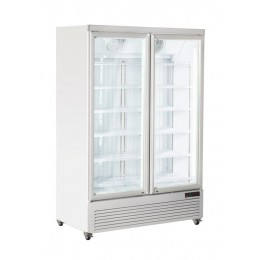 Vetrina gelateria ventilata 1080 lt 1340x760x2030 h mm