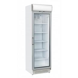 Vetrina pasticceria verticale refrigerazione roll-bond pannello pubblicitario +1 +12°C  595x670x1960 h mm