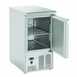 Saladette  statica 1 porta in acciaio inox  top  chiuso 215 lt 900x700x880 h mm