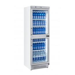 Vetrina pasticceria verticale doppia anta refrigerazione roll-bond +1 +12°C 595x670x1830 h mm