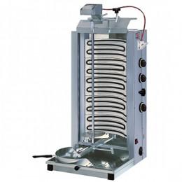 Macchina Doner Gyros Cuoci Kebab elettrica 75 kg 3 fasi di cottura