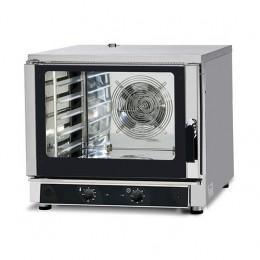 Forno elettrico 5 teglie 600x400 - GN 1/1 a convezione e con iniezione di acqua - MECCANICO