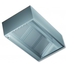 Cappa Cubica a parete senza motore profondità 110 cm 120x110x45h cm