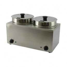 Bagnomaria Elettrico 2 vasche da 3,5 lt