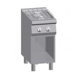 Cucina a Gas su vano 2 Fuochi