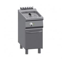 Friggitrice Elettrica professionale singola in acciaio inox 1/2 modulo 10 lt