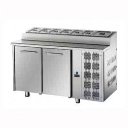 Tavolo Refrigerato Snack GN 1/1 con 2 porte