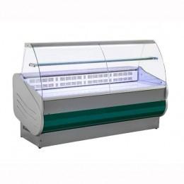 Banco Refrigerato 200 cm Vetri Curvi