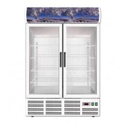 Vetrina Bibite refrigerazione statica capacità 620 litri